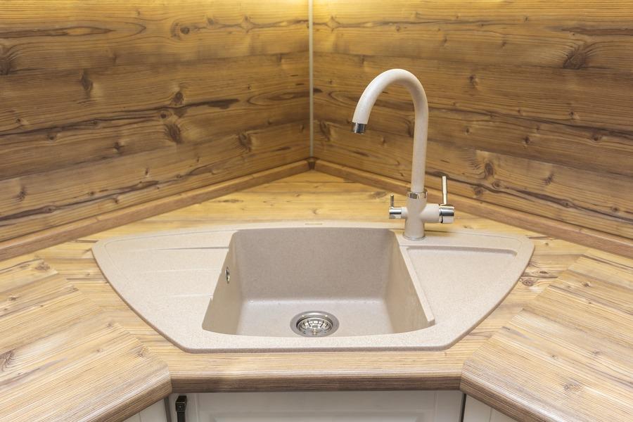 Белый кухонный гарнитур-Кухня МДФ в ПВХ «Модель 10»-фото11