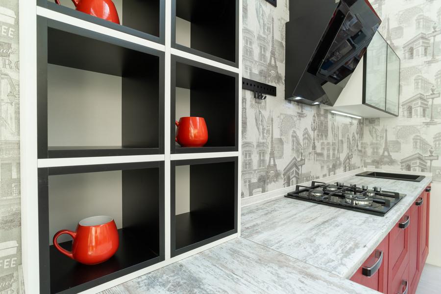 Классические кухни-Кухня МДФ в ПВХ «Модель 51»-фото5