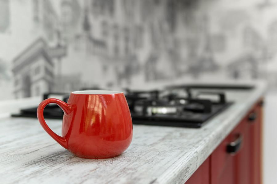 Классические кухни-Кухня МДФ в ПВХ «Модель 51»-фото9
