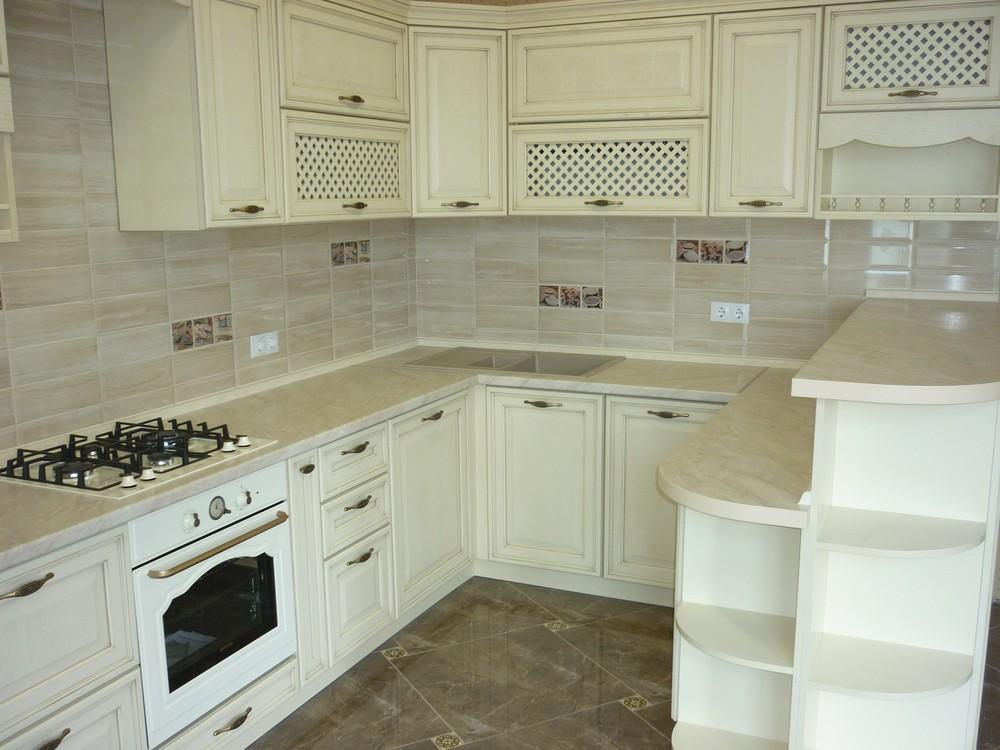 Акриловые кухни-Кухня МДФ в ПВХ «Модель 293»-фото5