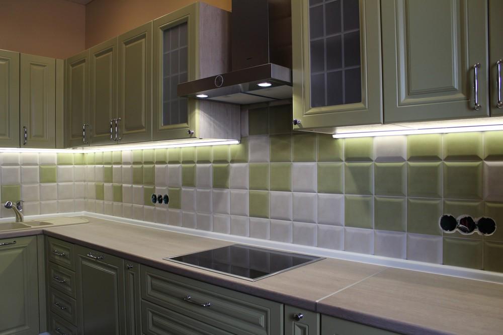 Классические кухни-Кухня МДФ в ПВХ «Модель 91»-фото5