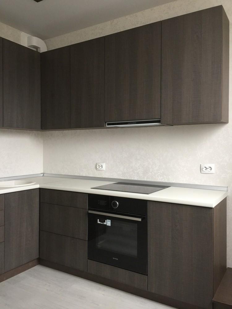 Акриловые кухни-Кухня из пластика «Модель 86»-фото2