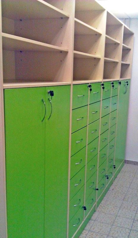 Торговая мебель-Мебель для аптеки «Модель 192»-фото3