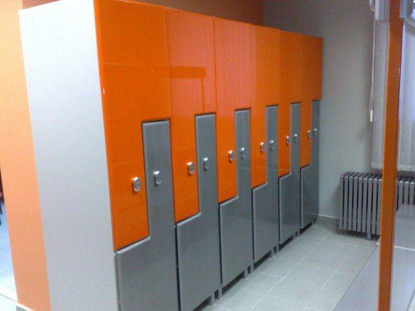 Торговая мебель-Шкафчики для раздевалки «Модель 170»-фото1