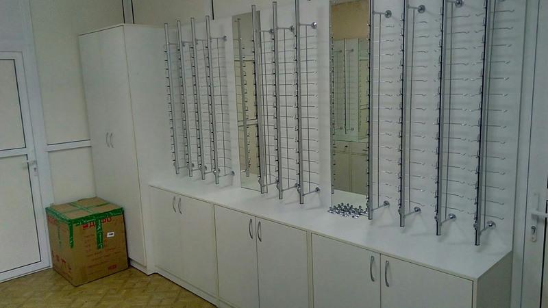 Торговая мебель-Мебель для оптики «Модель 201»-фото1