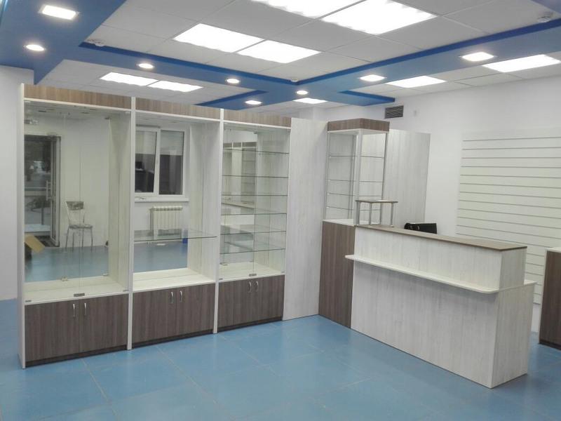 Торговая мебель-Мебель для оптики «Модель 198»-фото6