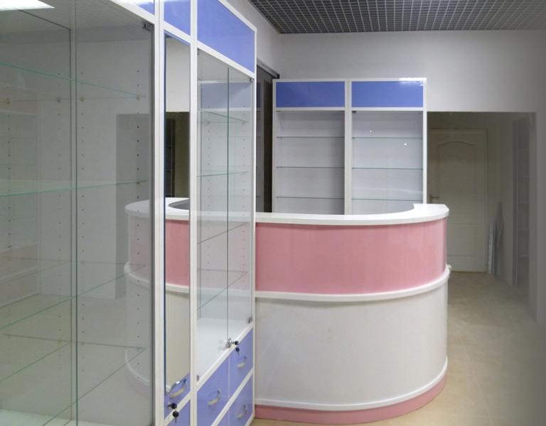 Торговая мебель-Мебель для оптики «Модель 212»-фото2