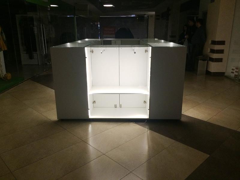 Торговая мебель-Торговый островок «Модель 244»-фото2
