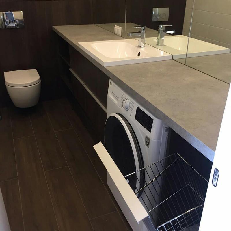 Мебель для ванной комнаты-Мебель для ванной «Модель 70»-фото8