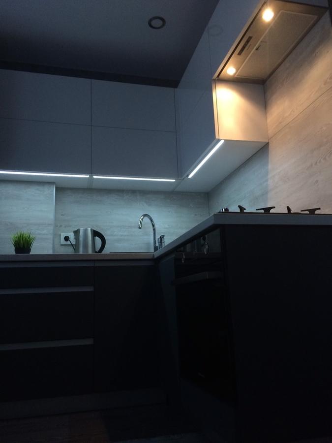 Акриловые кухни-Кухня из пластика «Модель 368»-фото5