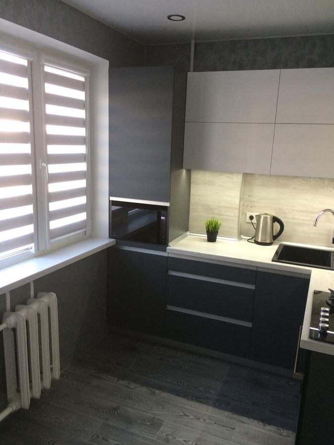 Акриловые кухни-Кухня из пластика «Модель 368»-фото3