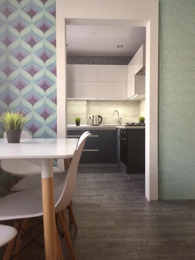 Акриловые кухни-Кухня из пластика «Модель 368»-фото1