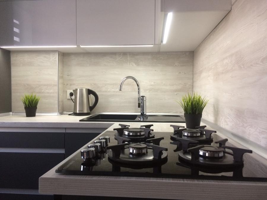 Акриловые кухни-Кухня из пластика «Модель 368»-фото9