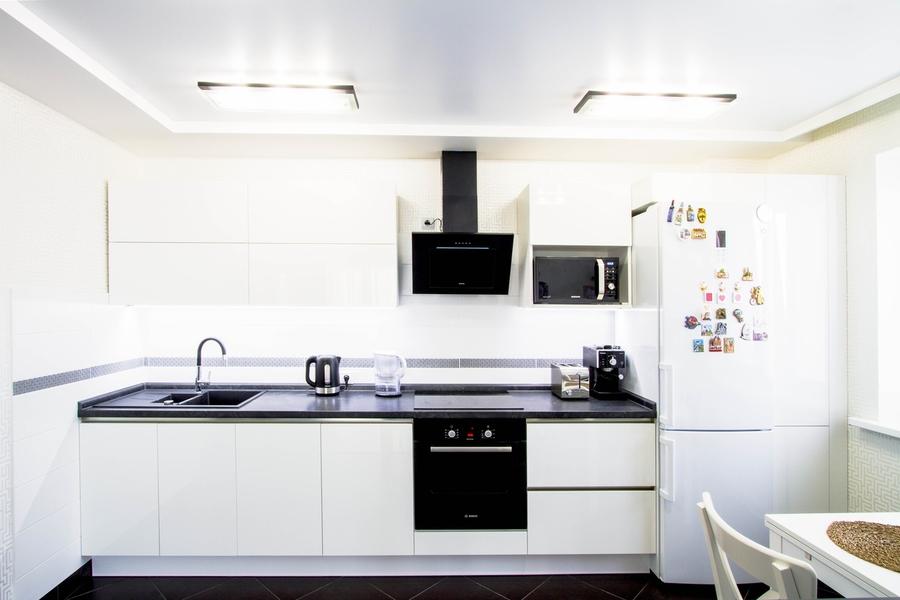 Акриловые кухни-Кухня из акрила «Модель 405»-фото1