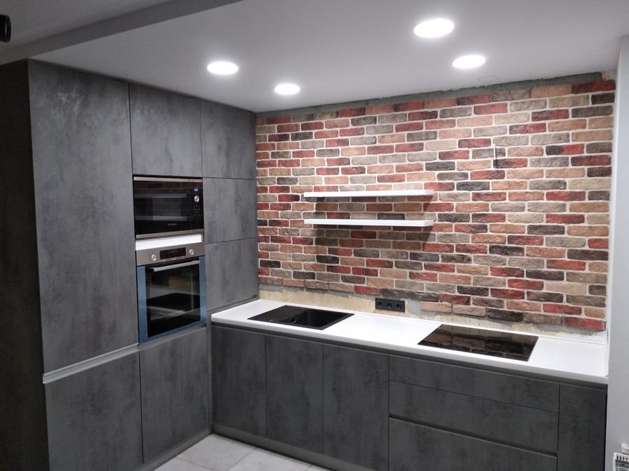 Купить кухню-Кухня МДФ в ПВХ «Модель 442»-фото1