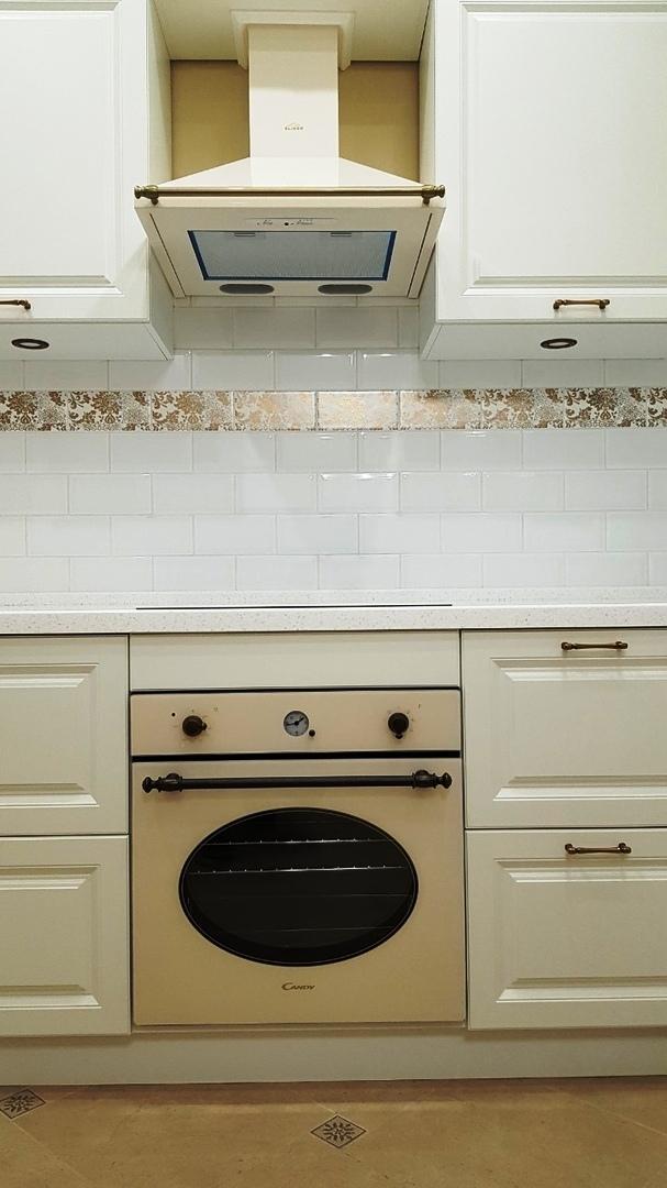 Белый кухонный гарнитур-Кухня МДФ в ПВХ «Модель 531»-фото5