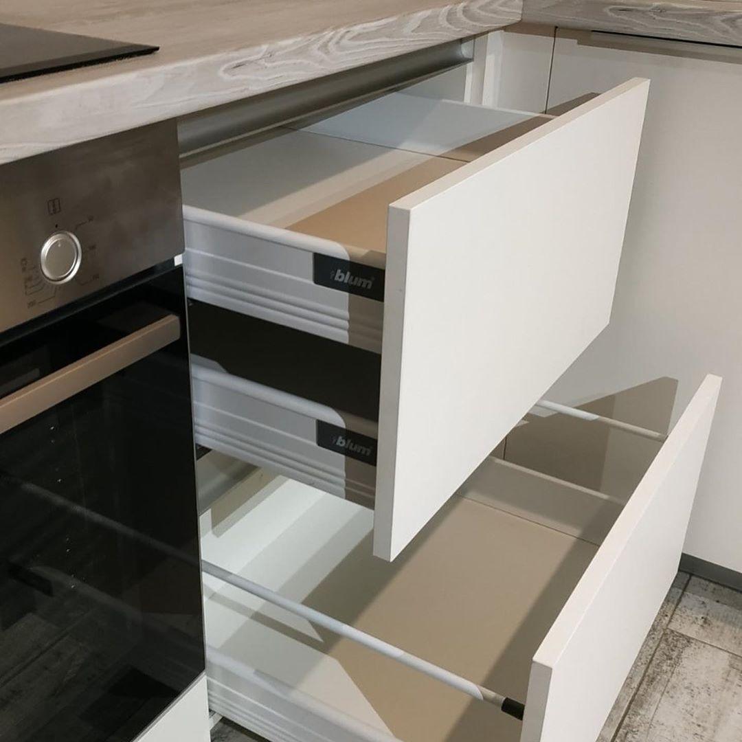 Белый кухонный гарнитур-Кухня из ЛДСП «Модель 626»-фото3
