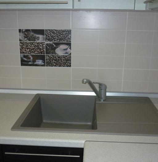 Встроенная кухня-Кухня МДФ в ПВХ «Модель 206»-фото5