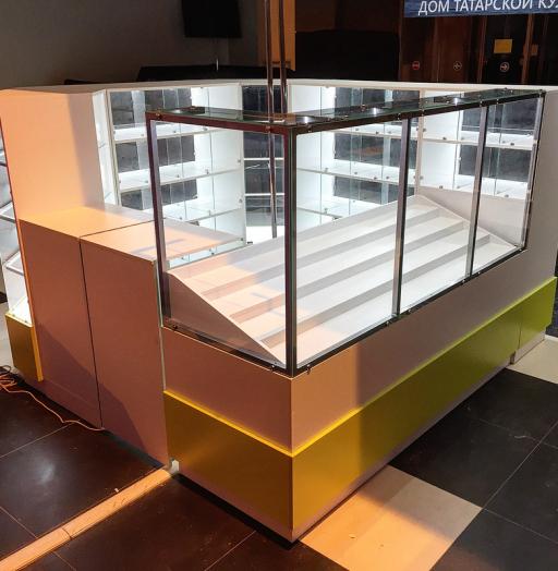 Торговая мебель-Торговый островок «Модель 262»-фото4