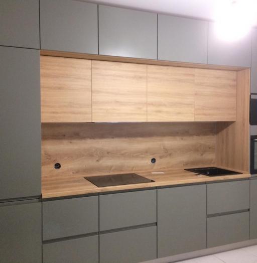Купить кухню-Кухня МДФ в эмали «Модель 383»-фото2