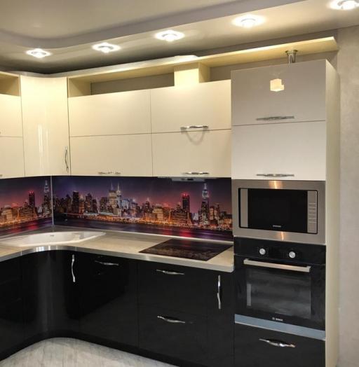 -Кухня из пластика «Модель 398»-фото26
