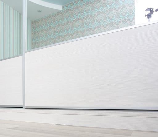 Белые шкафы-купе-Шкаф-купе с зеркалом «Модель 232»-фото4