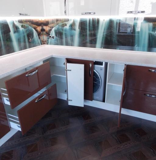 -Кухня из шпона «Модель 14»-фото7