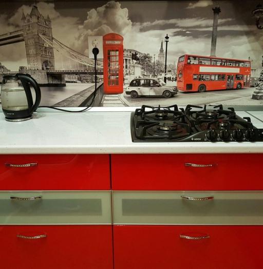 Акриловые кухни-Кухня из пластика «Модель 138»-фото5