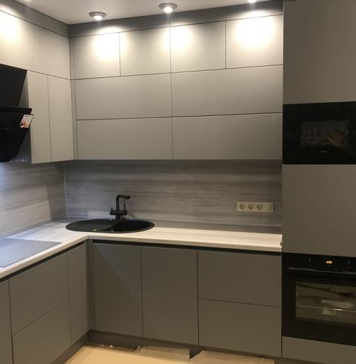 Купить кухню-Кухня МДФ в ПВХ «Модель 549»-фото4