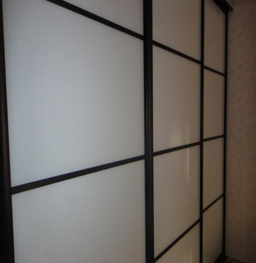 -Шкаф-купе из стекла Лакобель «Модель 178»-фото20